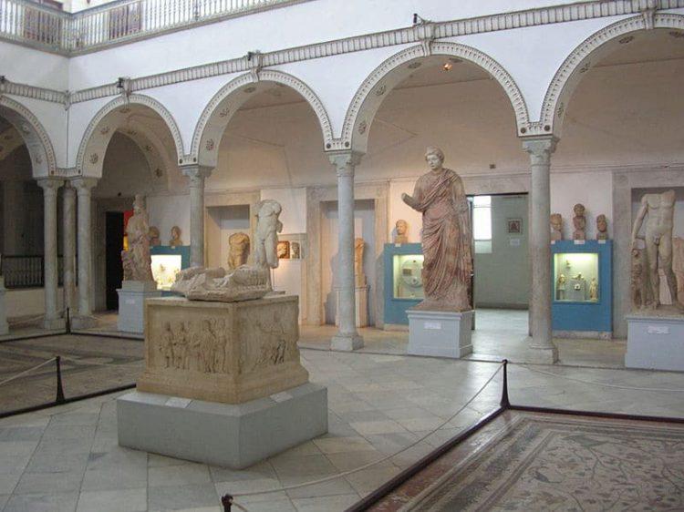 Национальный музей Бардо - достопримечательности Туниса