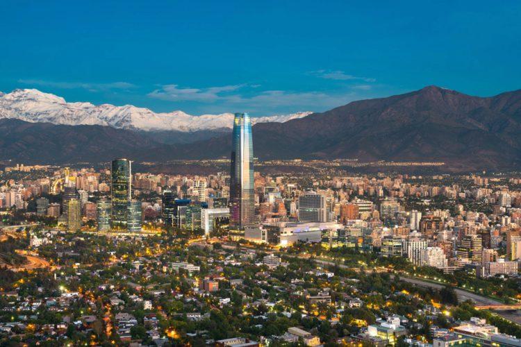 Город Сантьяго - достопримечательности Чили
