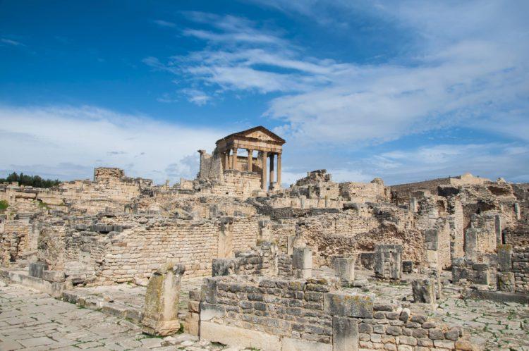 Древний город Дугга - достопримечательности Туниса