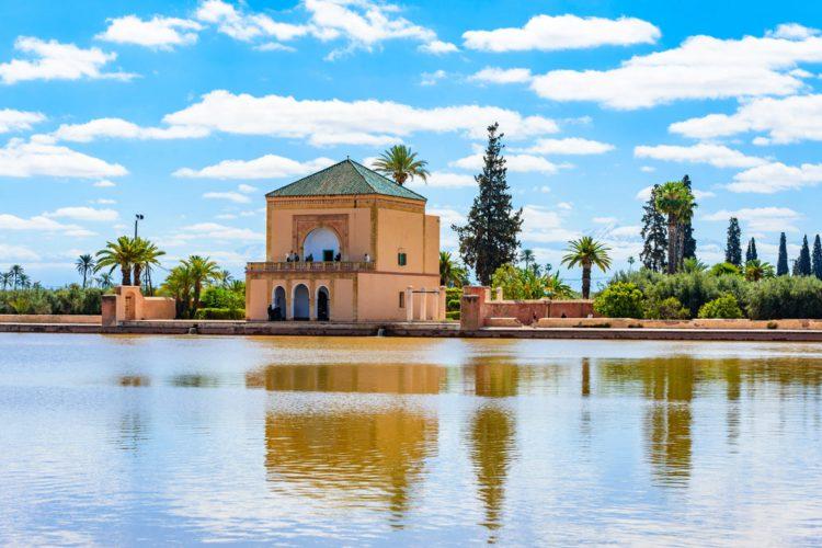 Сады Менара - достопримечательности Марокко