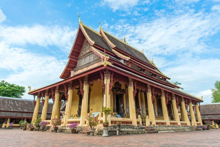 Храм Ват Сисакет - достопримечательности Лаоса