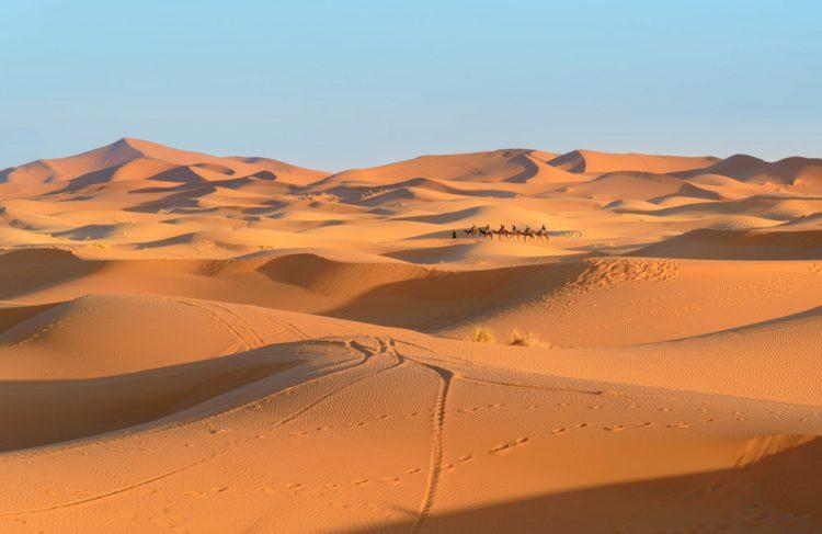 Эрг-Шебби - достопримечательности Марокко