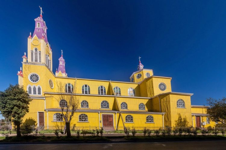 Церкви острова Чилоэ - достопримечательности Чили