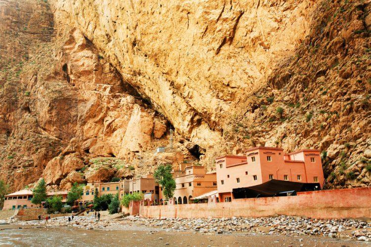 Ущелье Тодра - достопримечательности Марокко