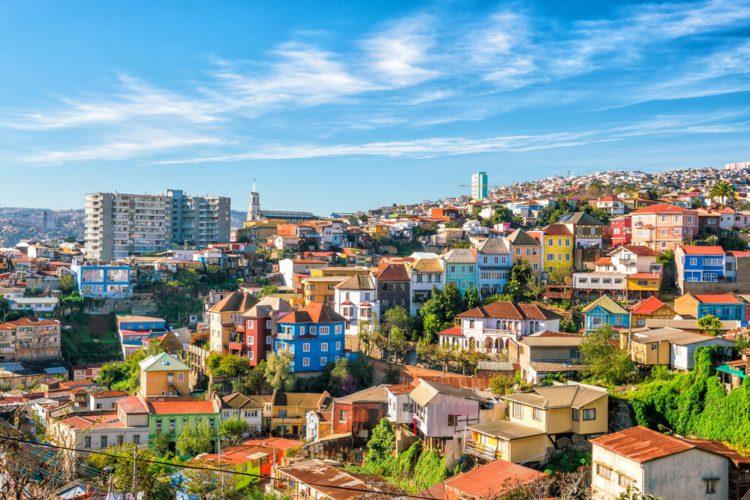 Город Вальпараисо - достопримечательности Чили