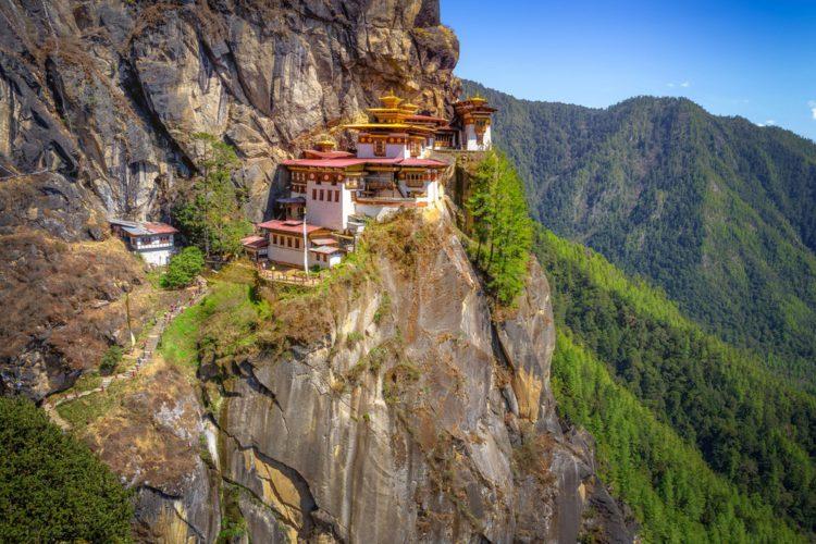 Монастырь Такцанг-лакханг - достопримечательности Бутана