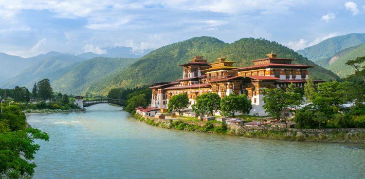 Пунакха-дзонг - достопримечательности Бутана