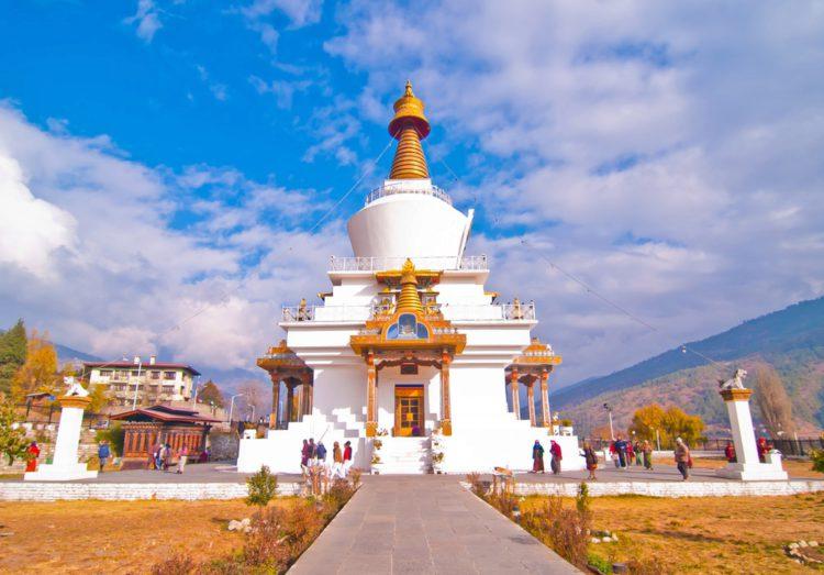 Храм Тхимпху-чортен - достопримечательности Бутана