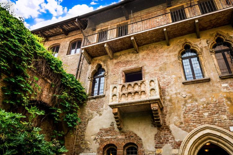 Дом Джульетты - достопримечательности Вероны