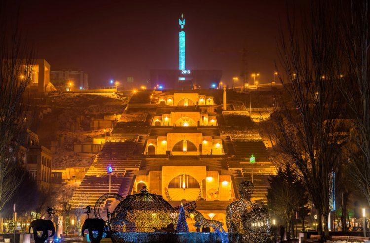 Комплекс «Каскад» - достопримечательности Еревана