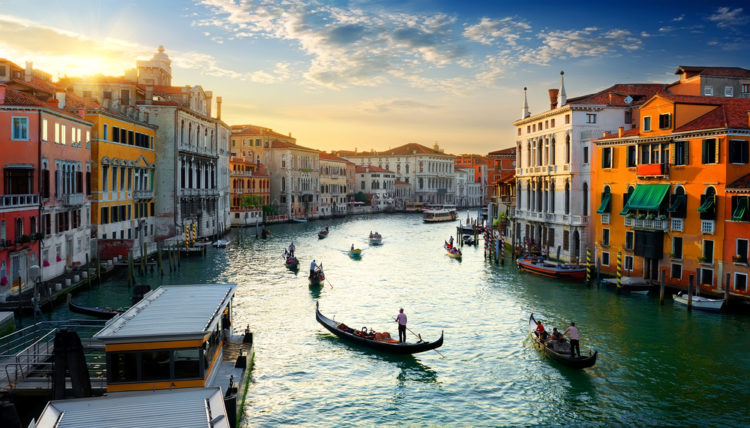 Гранд-канал - достопримечательности Венеции