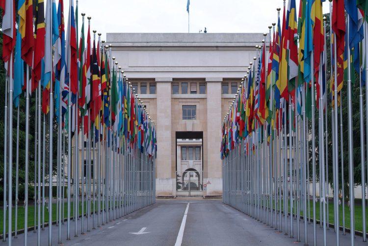 Дворец Наций - достопримечательности Женевы