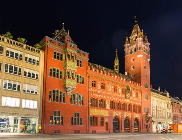 Базельская ратуша - достопримечательности Базеля