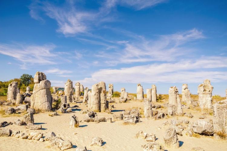 Каменный лес - достопримечательности Варны
