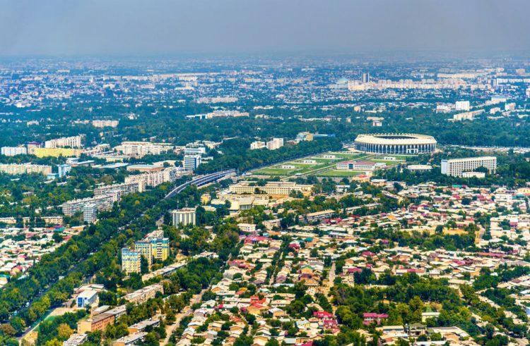 Город Ташкент - достопримечательности Узбекистана