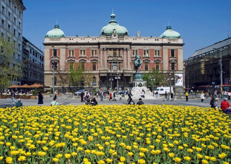 Национальный музей Сербии - достопримечательности Белграда