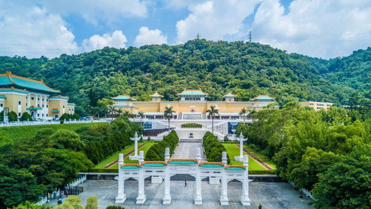 Музей императорского дворца - достопримечательности Тайваня
