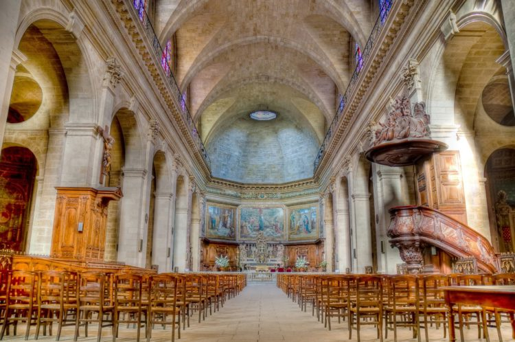 Церковь Нотр-Дам в Бордо - достопримечательности Бордо