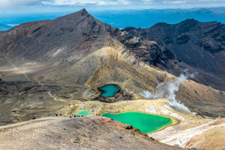 Национальный парк Тонгариро - достопримечательности Новой Зеландии