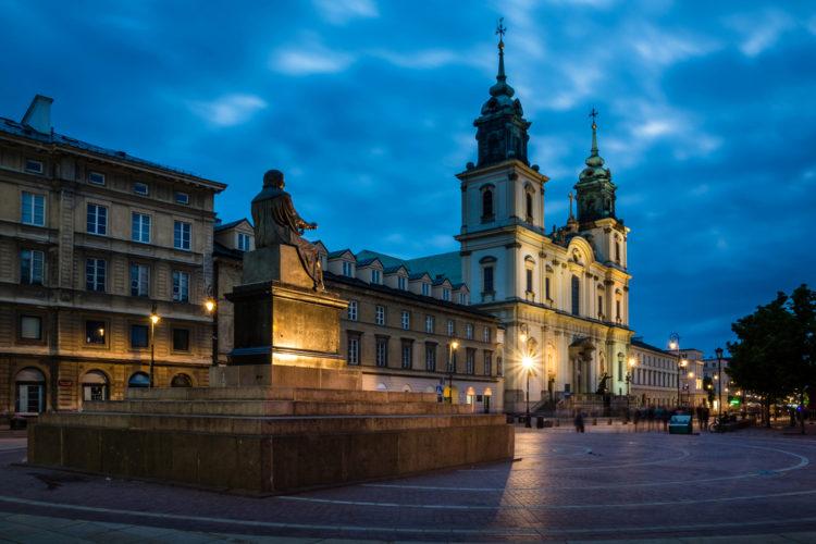 Костёл Святого Креста - достопримечательности Варшавы
