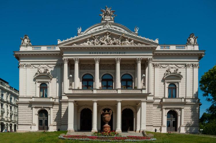 Театр Магена - достопримечательности Брно