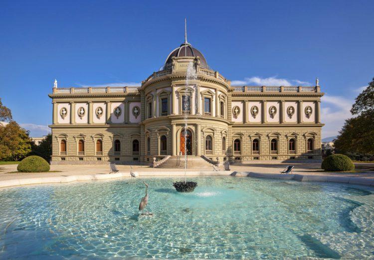 Музей керамики и стекла «Ариана» - достопримечательности Женевы