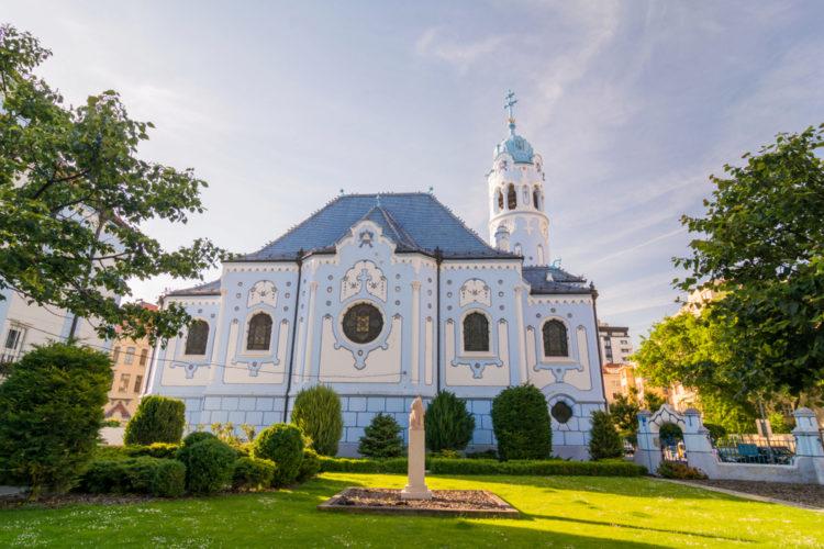 Церковь Святой Елизаветы - достопримечательности Братиславы