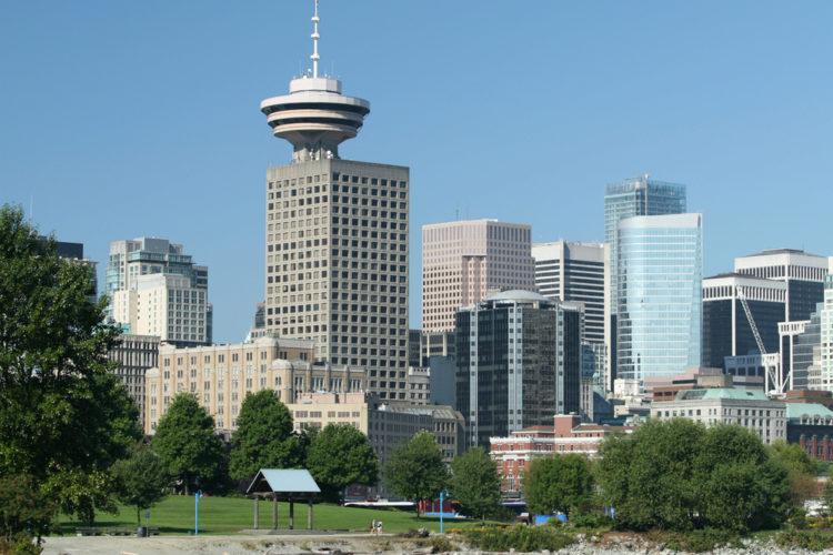 Небоскреб Харбор-центр - достопримечательности Ванкувера