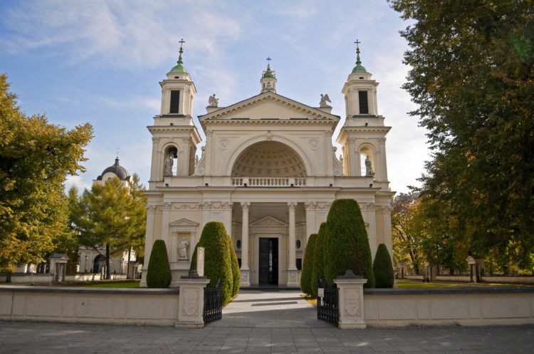 Костёл Святой Анны - достопримечательности Варшавы