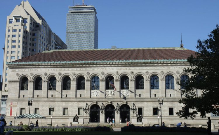 Бостонская публичная библиотека - достопримечательности Бостона