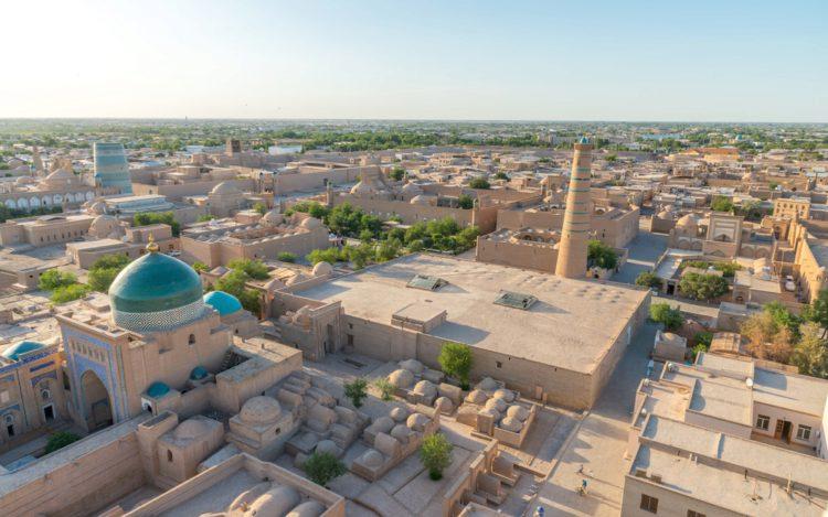 Город Хива - достопримечательности Узбекистана