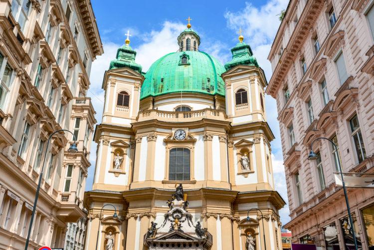 Церковь Святого Петра - достопримечательности Вены