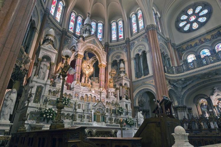Базилика Сантисимо Сакраменто - достопримечательности Буэнос-Айреса