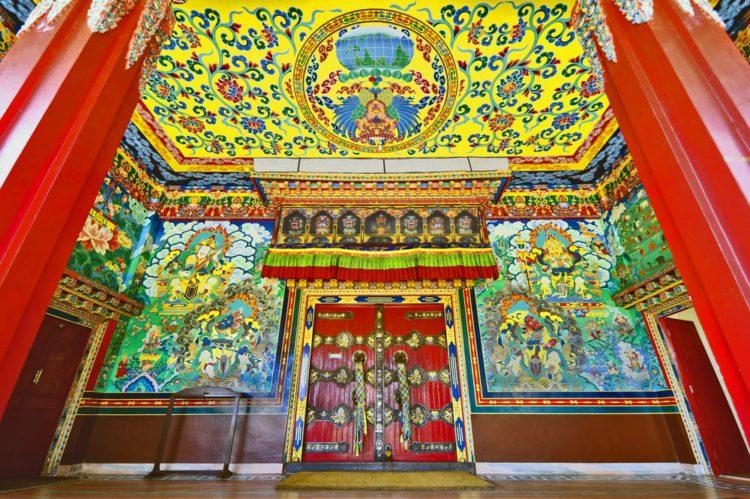 Монастырь Копан - достопримечательности Непала