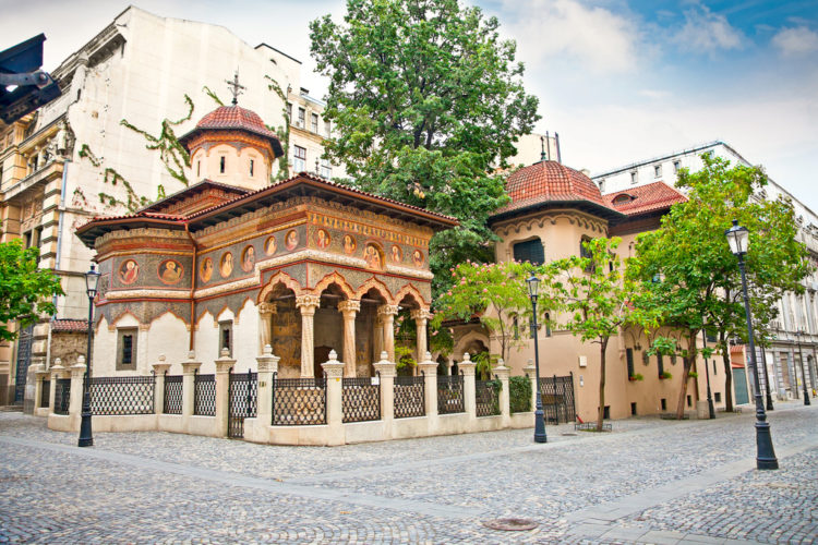 Ставропольская церковь - достопримечательности Бухареста