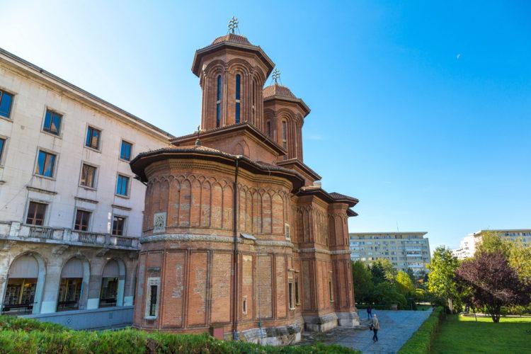 Церковь Крецулеску - достопримечательности Бухареста