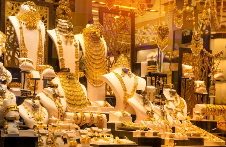Золотой рынок - достопримечательности Дубая