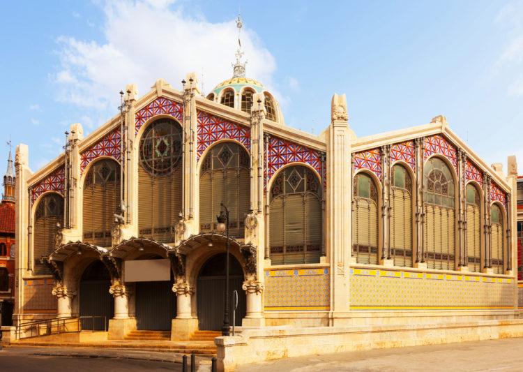 Центральный рынок - достопримечательности Валенсии