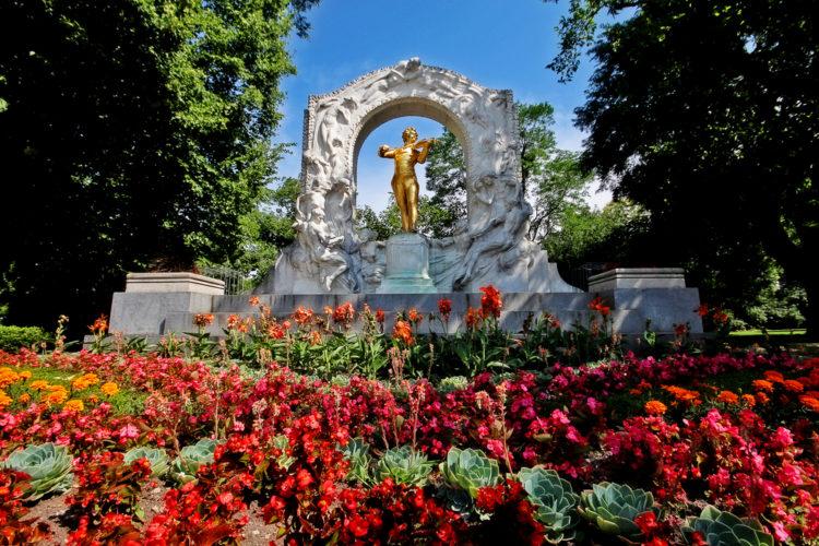 Городской парк Вены - достопримечательности Вены