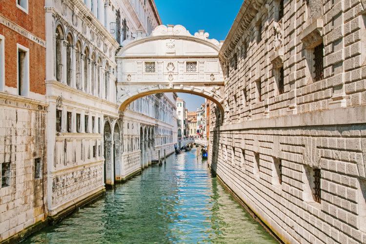 Мост Вздохов - достопримечательности Венеции