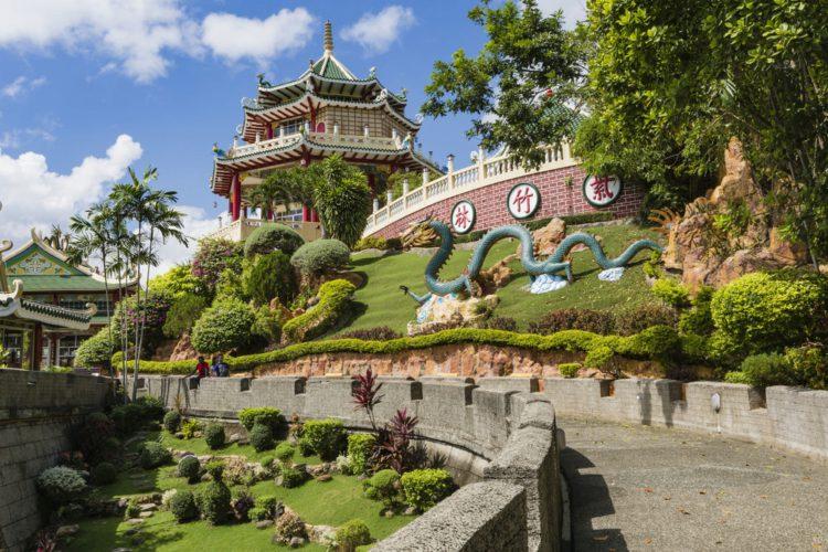 Даосский храм в Себу - достопримечательности Филиппин