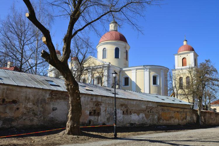 Церковь Святого Духа - достопримечательности Вильнюса