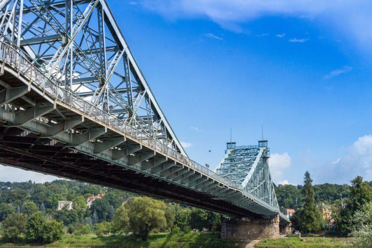 Лошвицкий мост - достопримечательности Дрездена
