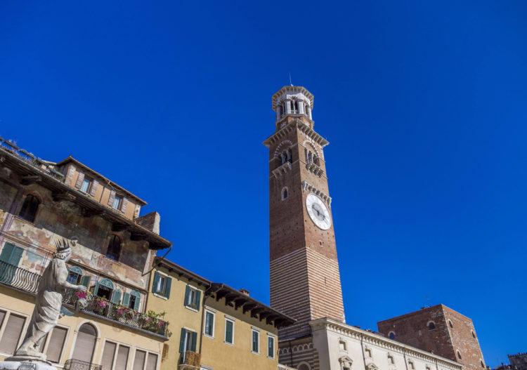 Башня Ламберти - достопримечательности Вероны