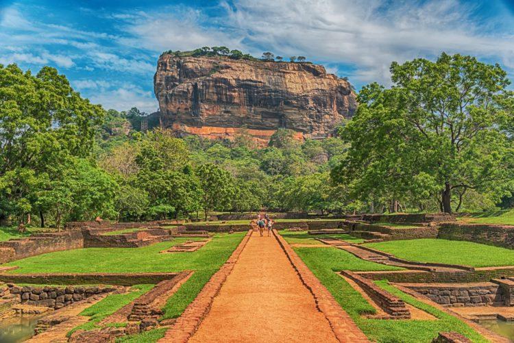 Сигирия - достопримечательности Шри-Ланки