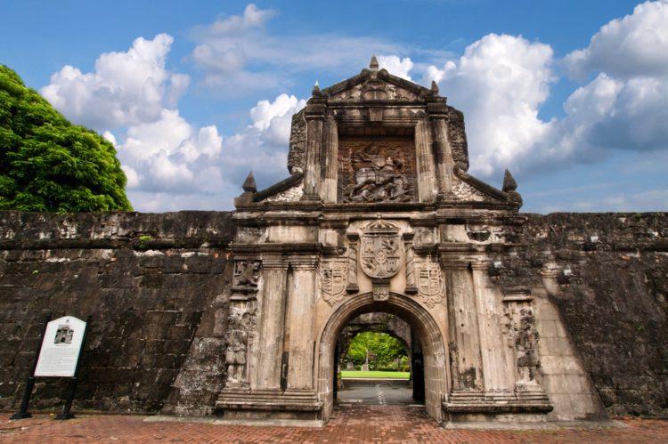 Форт Сантьяго (Манила) - достопримечательности Филиппин