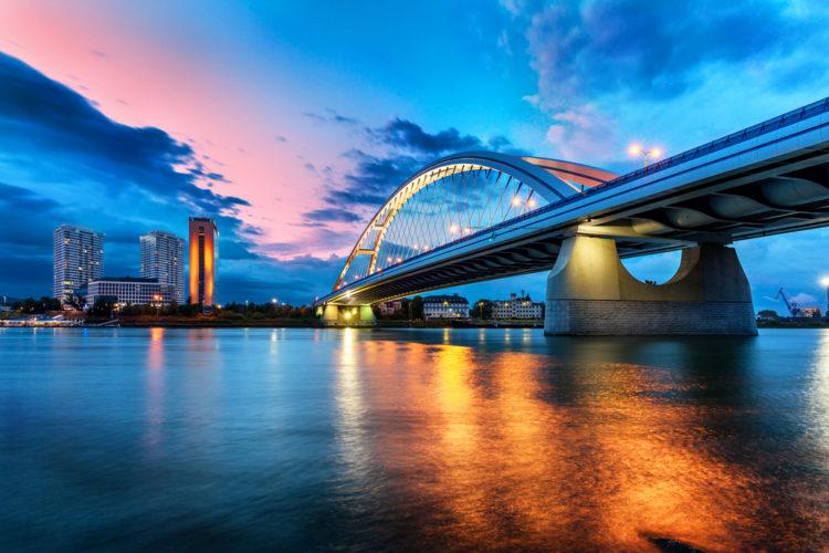 Мост Аполлон - что посмотреть в Братиславе