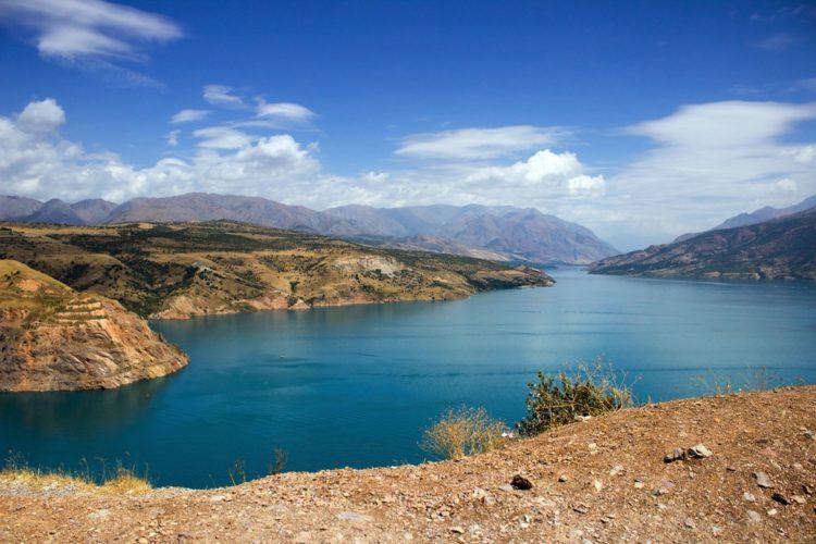 Чарвакское водохранилище - достопримечательности Узбекистана
