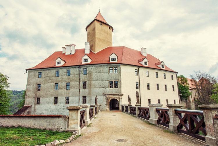 Замок Вевержи - достопримечательности Брно