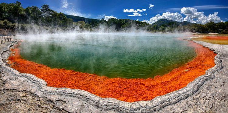 Уаи-О-Тапу - достопримечательности Новой Зеландии
